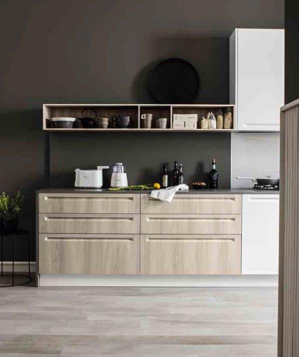 Cucina Luce Teodori Home by Mobilegno top